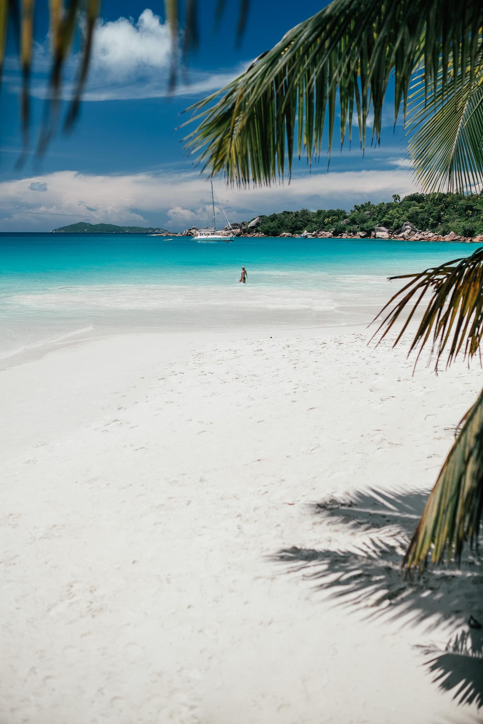Plage La Digue Seychelles
